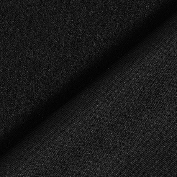 Scuba crêpe léger – noir