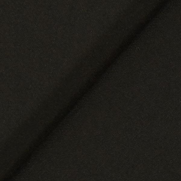 Satin de coton Stretch – noir