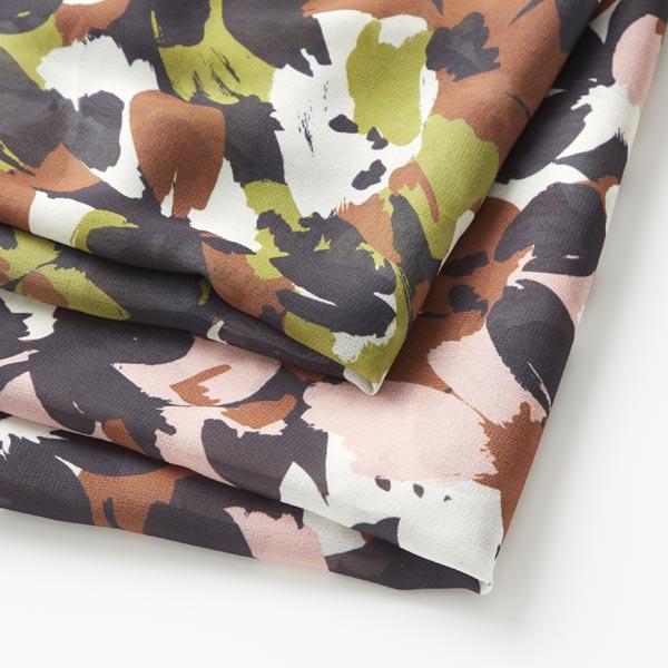Chiffon camouflage – rose