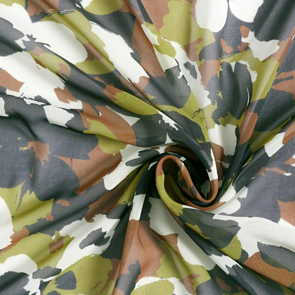 Chiffon camouflage – olive clair
