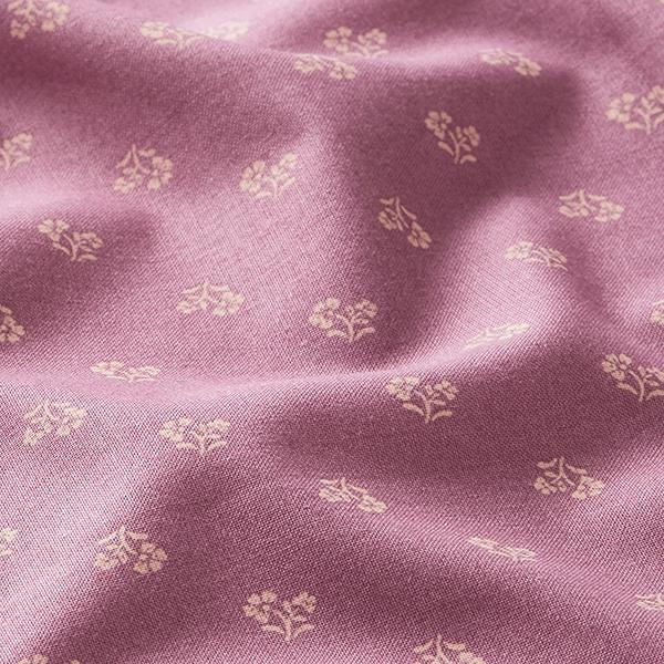 Tissu pour chemisier Petites fleurs – vieux rose