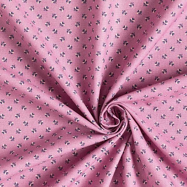 Tissu pour chemisier Cœur de Marie – vieux rose