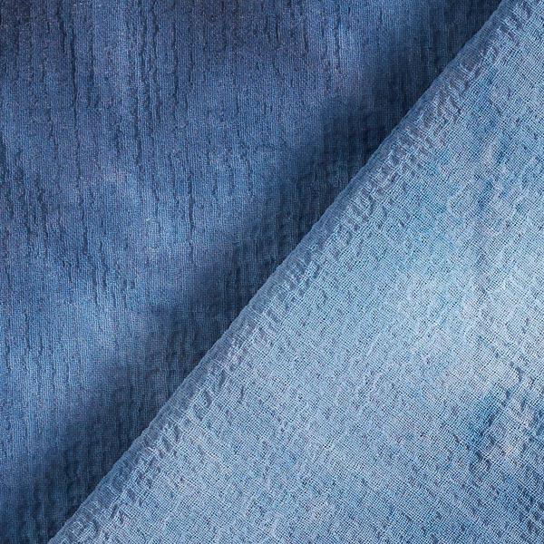 Crêpe Chiffon Motif Batik – bleu jean