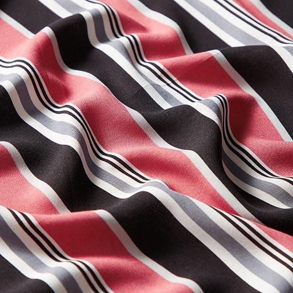 Tissu de chemisier viscose rayures – vieux rose