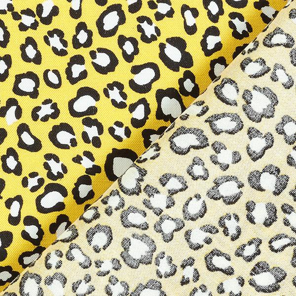 Tissu pour chemisier Viscose Points léopard – jaune