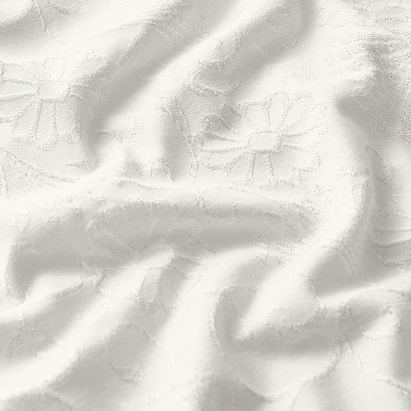 Jersey jacquard léger Mélange viscose – blanc/argent