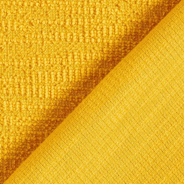 Maille coton bouclé – moutarde