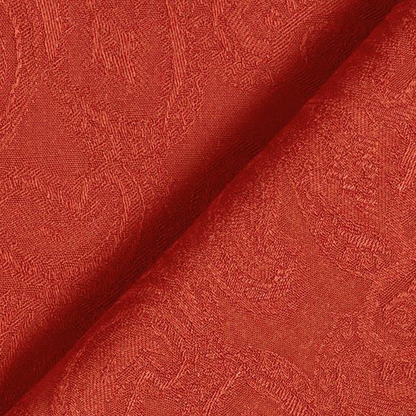 Tissu de chemisier Viscose Jacquard Paisley – terre cuite