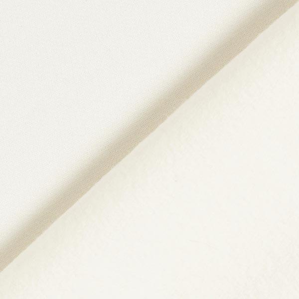 Jersey de coton gratté Uni – écru