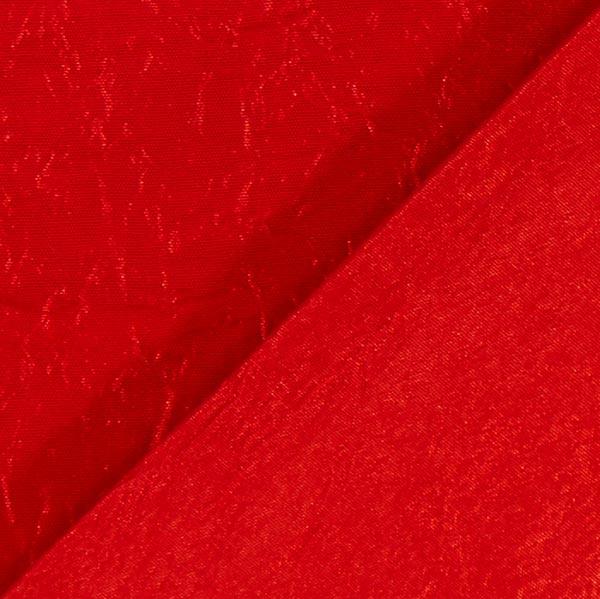 Tissu taffetas Crash – rouge