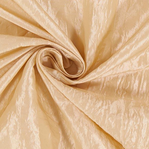 Tissu taffetas Crash – champagne