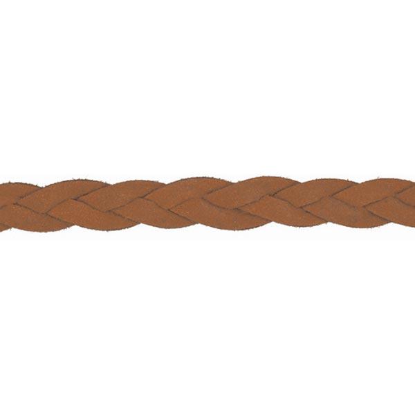 Cordon tressé [ Ø 10 mm ] – marron