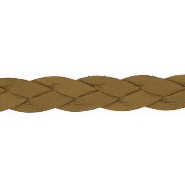 Cordon tressé [ Ø 10 mm ] – terre cuite