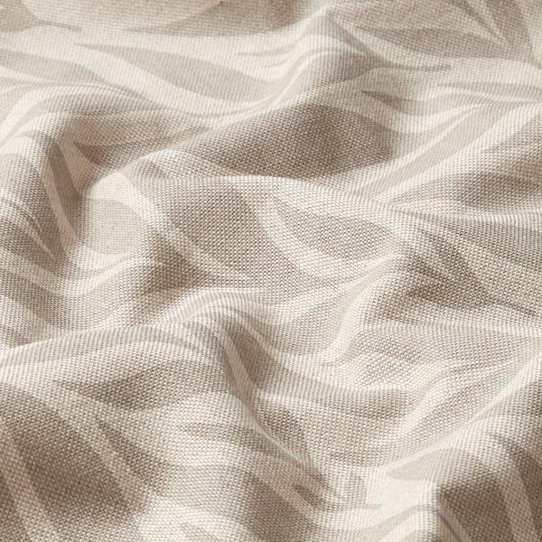 Tissu de décoration Semi-panama Feuilles – nature