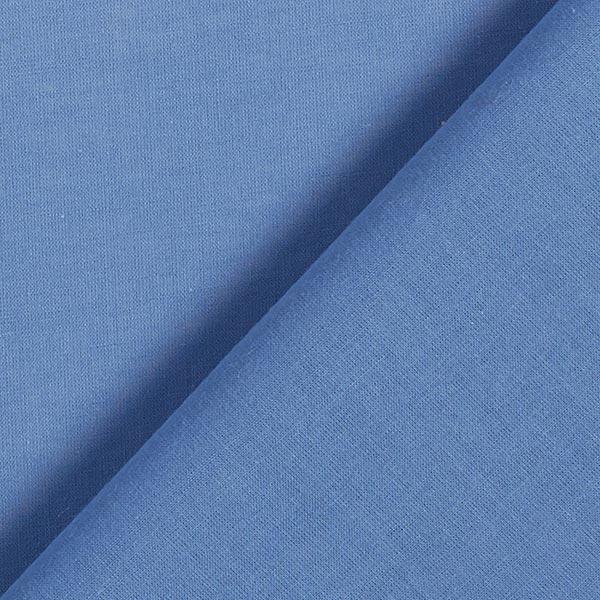 Batiste de coton Uni – bleu jean