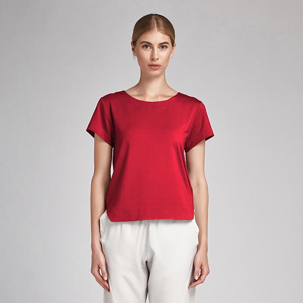 Batiste de coton Uni – rouge