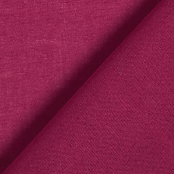 Batiste de coton Uni – rouge bordeaux
