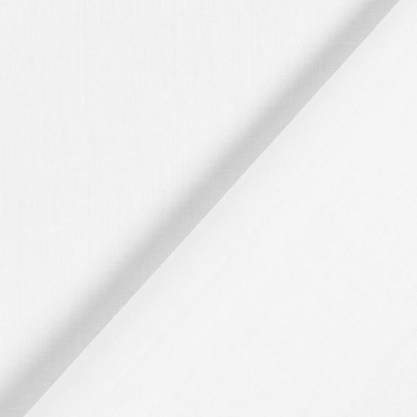Batiste de coton Uni – blanc