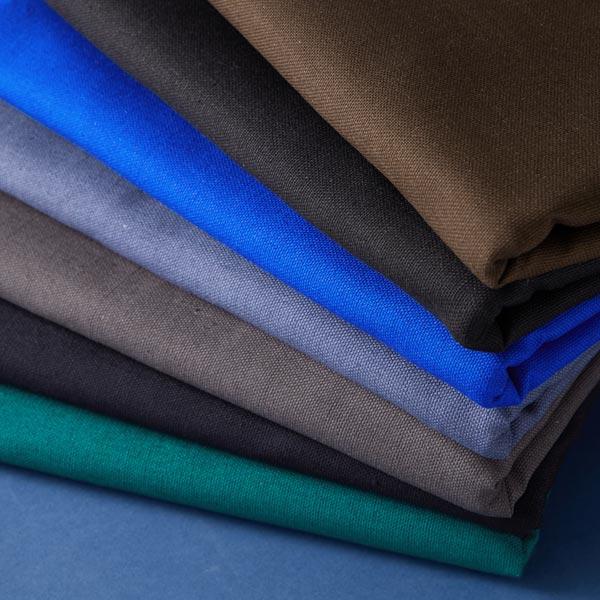 Tissu de décoration Canvas – bleu acier