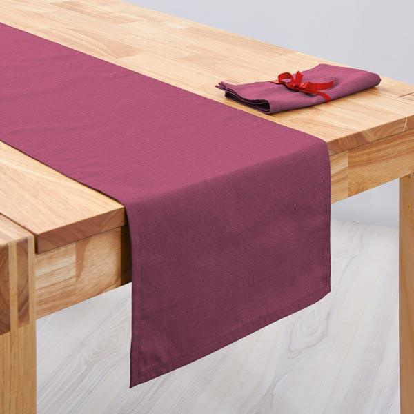 Tissu de décoration Canvas – rouge violet