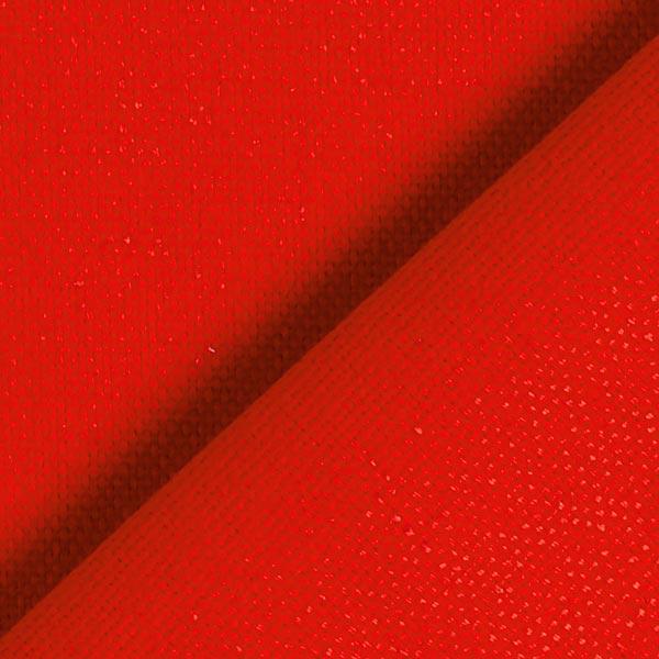 Tissu de décoration Canvas – rouge vif