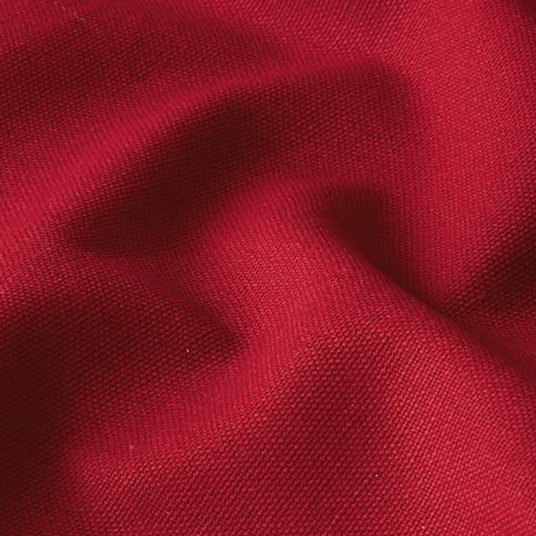 Tissu de décoration Canvas – carmin