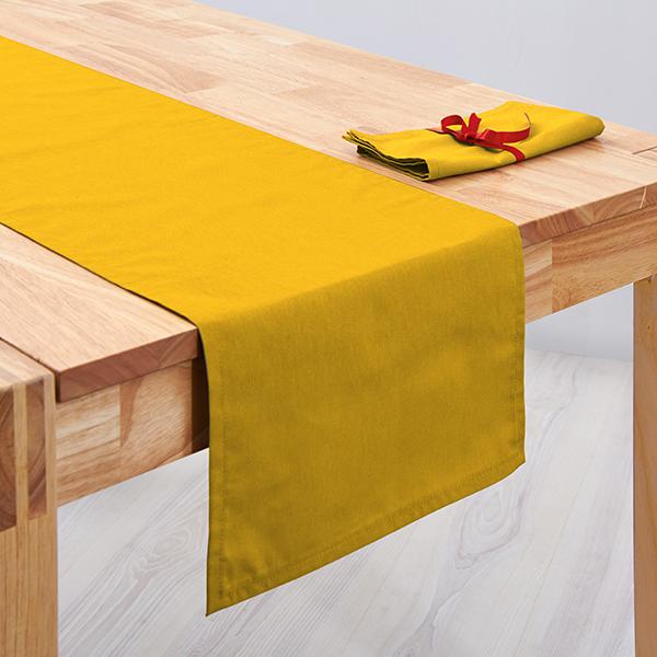 Tissu de décoration Canvas – curry