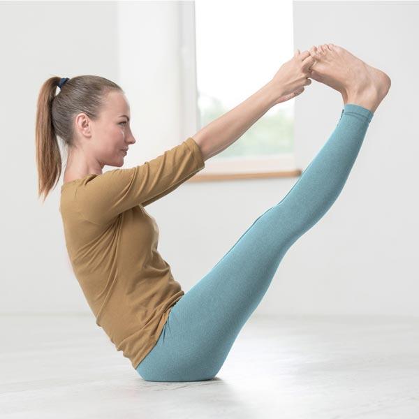 Tanz-und Gymnastik Jersey – stahlblau