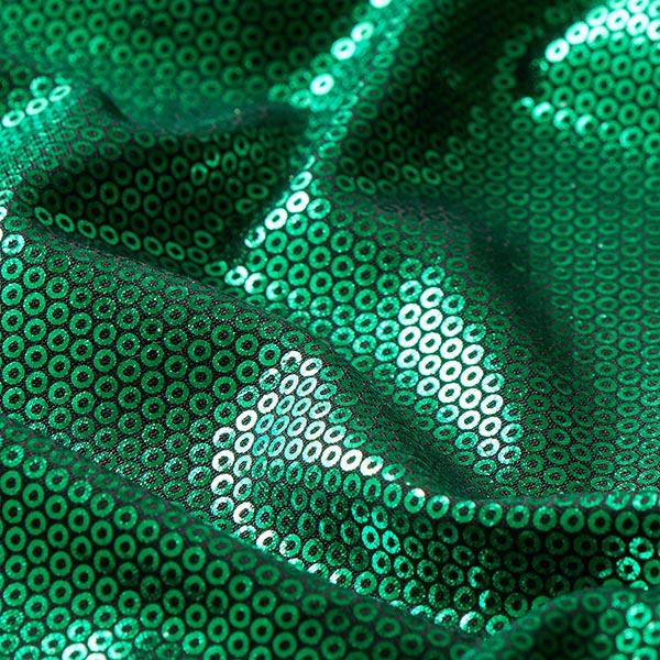 Jersey feuille Aspect paillettes – vert