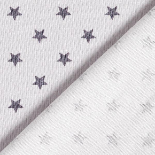 Jersey coton Petites étoiles – gris clair/gris