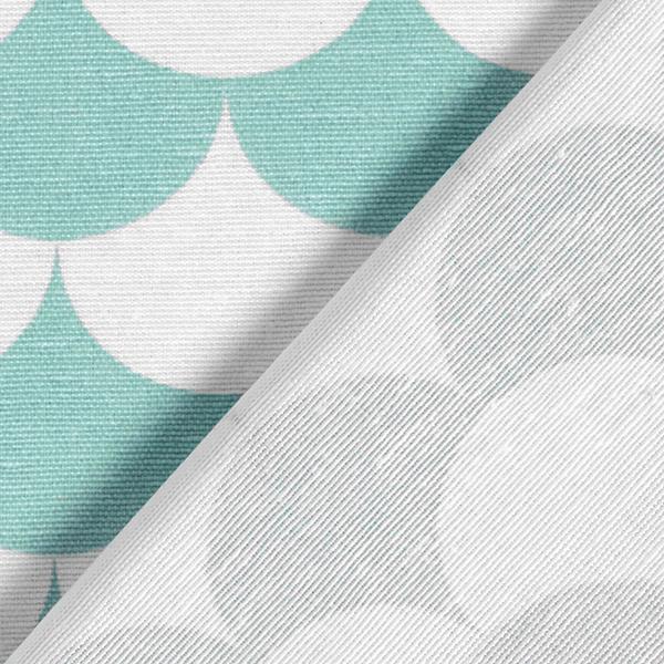 Tissu de décoration Vague 1 – pistache