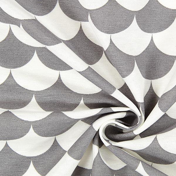 Tissu de décoration Vague 3 – gris