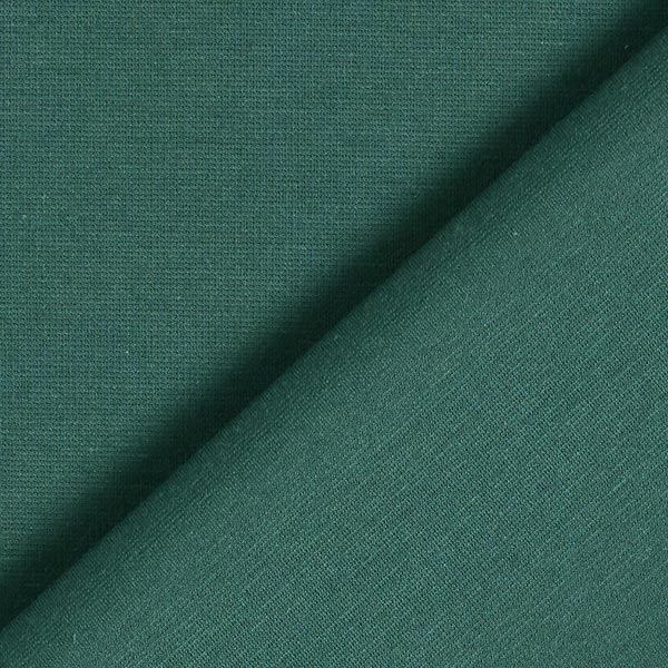 Jersey romanite Coton Uni – vert foncé