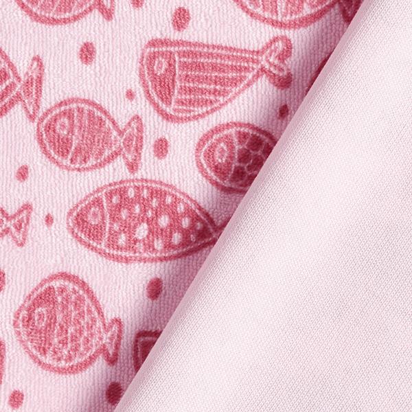 Éponge stretch Poissons – rosé