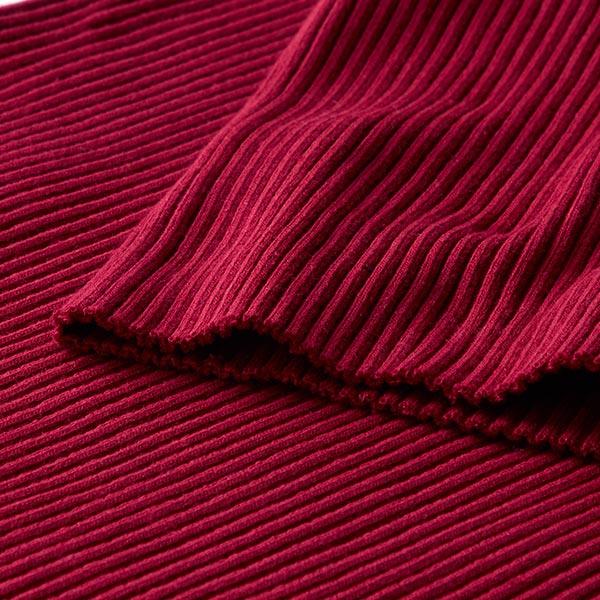 Petite ceinture de veste Heavy Hipster Cuff – rouge bordeaux