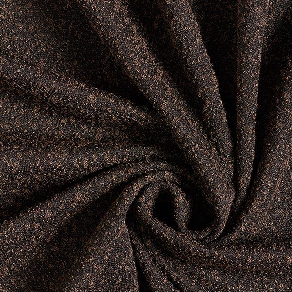 Tissu maille Aspect bouclé – marron clair