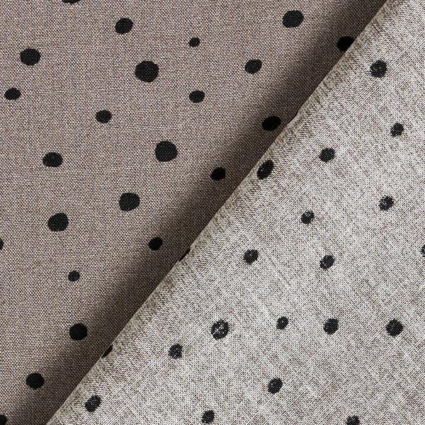 Tissu de chemisier viscose petits points – gris/noir