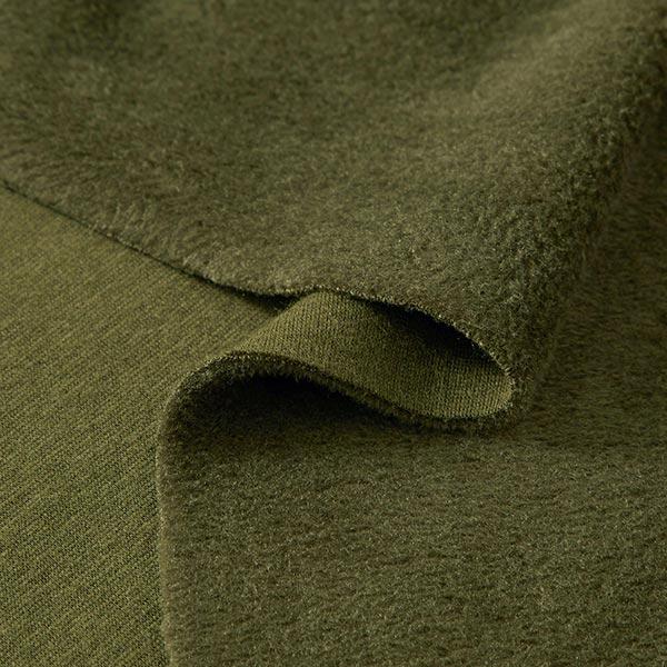 Polaire alpin Sweat douillet Uni – olive foncé