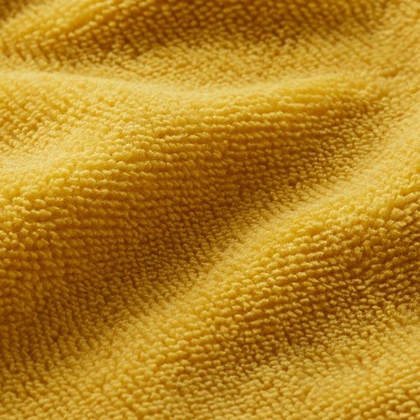 Tissu éponge douillet Bambou Uni – curry