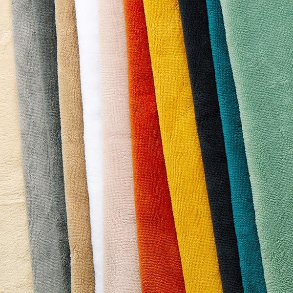 Tissu éponge douillet Bambou Uni – terre cuite