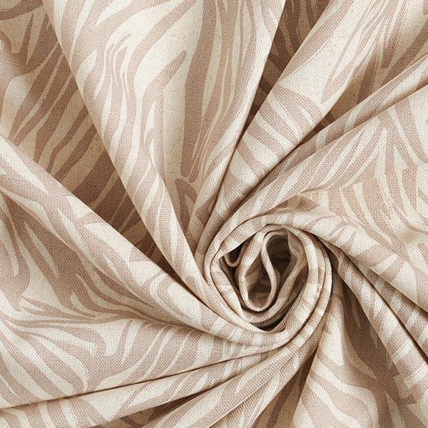 Mélange viscose lin Zèbre – sable