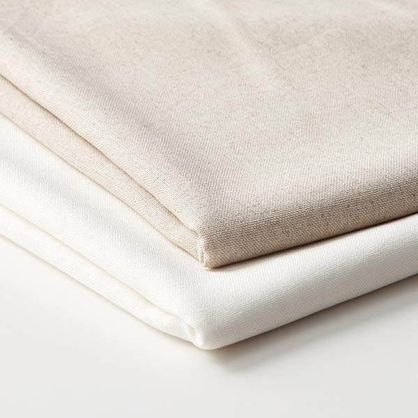 Tissu pour chemisier mélange viscose lin uni – nature