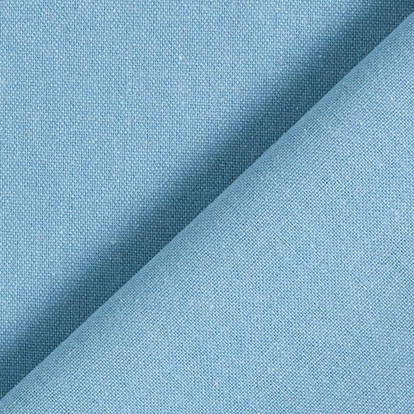 Mélange lin coton Uni – bleu jean