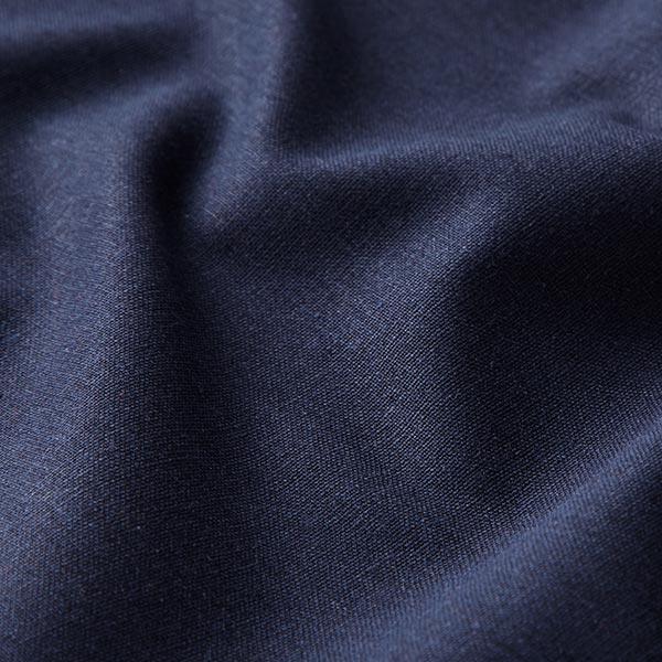Mélange lin coton Uni – bleu marine