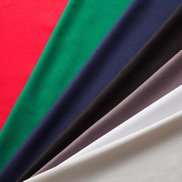 Mélange lin coton Uni – rouge vif