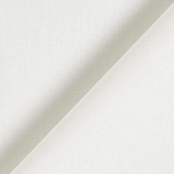 Mélange lin coton Uni – écru