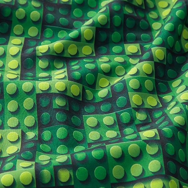 Softshell Bausteine – vert pomme/vert foncé