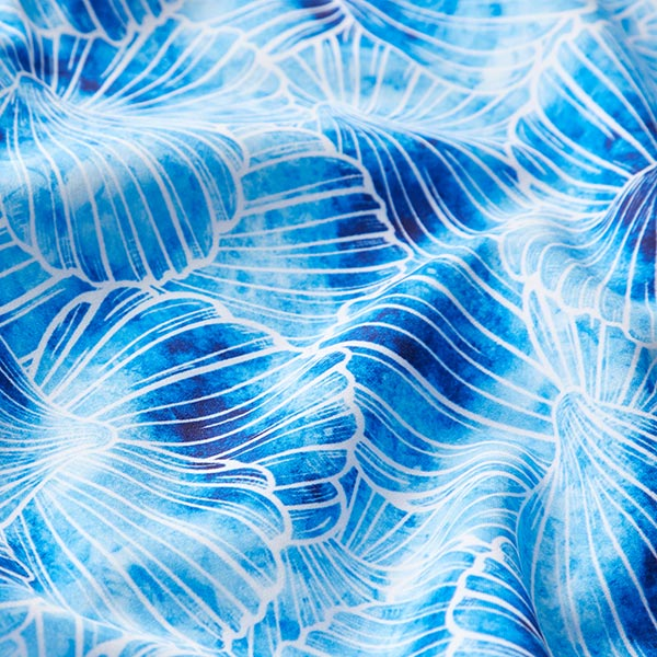 Softshell Coquillages – bleu aqua/blanc