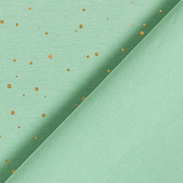 Jersey coton Points dorés fins – roseau