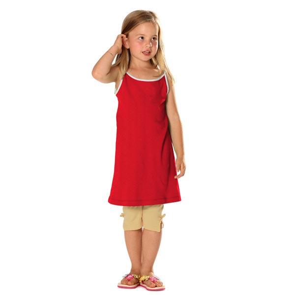 Jersey viscose léger – rouge vif